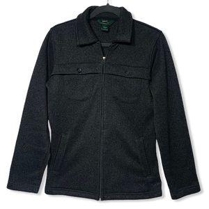 Woolrich Onyx Heather Fleece Shirt Jacket